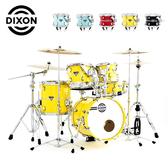 DIXON 嚴選兒童爵士鼓組Artisan Street club懸吊式系統-含支架/踏板/鼓椅/鼓棒(不含銅拔)