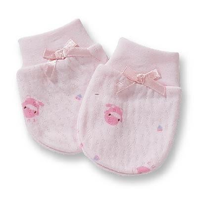 【奇買親子購物網】酷咕鴨KU.KU. 幸福束口護手套(藍色/粉色)