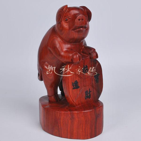 紅檀木雕刻工藝禮品