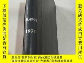 二手書博民逛書店NITROGEN罕見Nos 69-74 1971 氮Y21282
