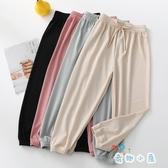 女童冰絲長褲夏季薄款打底褲兒童裝寶寶寬鬆休閒【奇趣小屋】