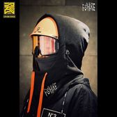 滑雪頭盔 18/19季SHARE FLYINGSTONE飛石合作款滑雪風雪帽頭盔頭套YYJ 卡卡西