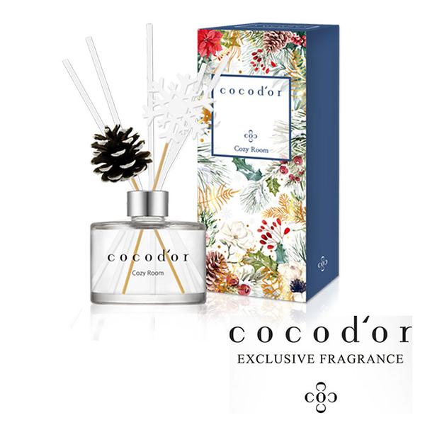 韓國 cocod or 【冬季雪花球果限定款】室內擴香瓶 200ml 擴香 香氛 香味 芳香劑 室內擴香