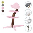 丹麥 Nomi 多階段成長椅-新生兒經典必備組(含躺椅)胡桃木-5色可選