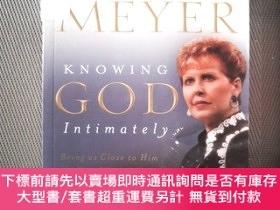 二手書博民逛書店JOYCE罕見MEYER KNOWING GOD IntimatelyY239696 JOYCE MEYER