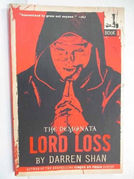 【書寶二手書T1/原文小說_G5D】Lord Loss_Shan, Darren