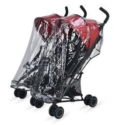 Moov Design - Alvis 雙人推車(雙寶車) 專用防風雨罩