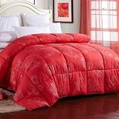 羽絨被 寢具-柔軟溫暖舒適冬季白鴨絨雙人棉被8色72aa20[時尚巴黎]