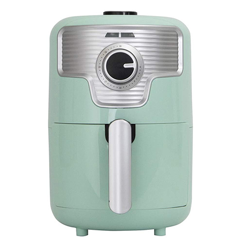 S-cubism【日本代購】氣炸鍋 零油健康1.6L 小巧個人用NFC-16LG-復古淺綠