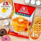 【南紡購物中心】森永-經典鬆餅粉x4袋(600g/袋)