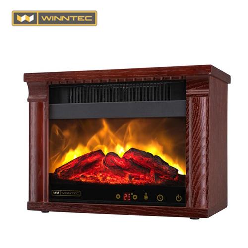 Winntec 火焰山3D擬真原木電暖爐WIN-H001