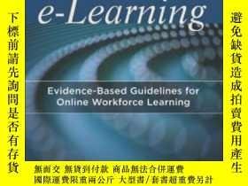 二手書博民逛書店Scenario-based罕見E-learning: Evidence-based Guidelines For