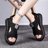 世界12強涼鞋-新款夏季涼鞋男士沙灘鞋室外休閒韓版人字潮流時尚外穿拖鞋男