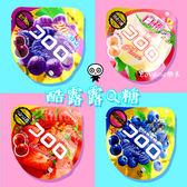 日本 UHA味覚糖 酷露露Q糖 40g (四種口味) 葡萄(48g) 水蜜桃 草莓 藍莓 軟糖