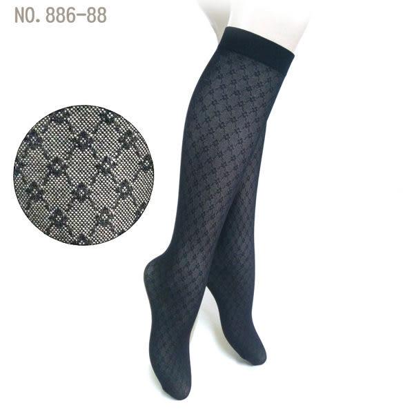 花紋中筒襪NO.886-88