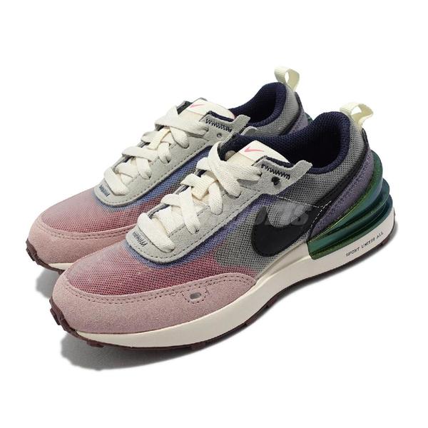 Nike 童鞋 Waffle One 灰 紫 小Sacai 中童鞋 小朋友 解構 運動鞋【ACS】 DM5455-701