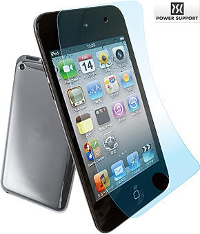 【A Shop】POWER SUPPORT iPod touch4 螢幕保護膜(鏡面)