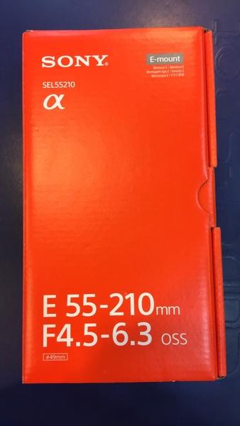 SONY SEL55210 E 55-210mm F4.5-6.3 OSS E接環 專屬鏡頭 【平行輸入 完整盒裝 】WW