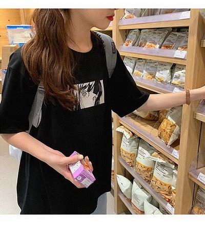 (下殺)彈性棉市場價短袖印花【08SG06670】