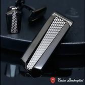 藍寶堅尼Tonino Lamborghini ARIA Black 錢夾 鈔票夾 防抗過敏 SUS316L頂級不鏽鋼 義大利精品