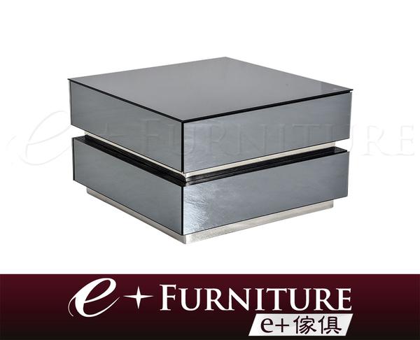 『 e+傢俱 』BT71 韋德 Wade 鏡面造型 全玻璃設計 小茶几 | 小邊几 | 收納 | 鏡面小茶几 | 現代