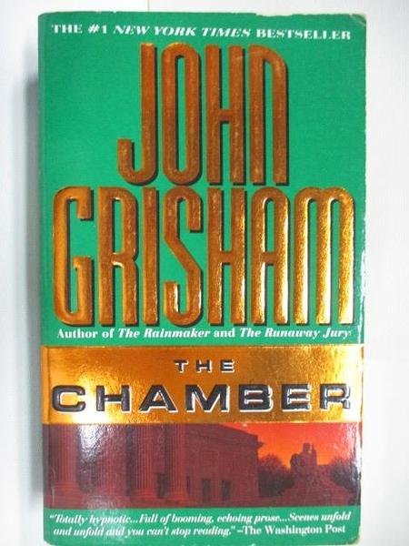 【書寶二手書T2/原文小說_ABF】The Chamber_John Grisham