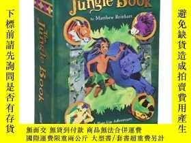 二手書博民逛書店奇幻森林立體書罕見英文原版 The Jungle Book: A Pop-Up AdventureY33573