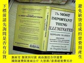 二手書博民逛書店The罕見Most Important Thing Illuminated 最重要的是照亮Y203004 Ho