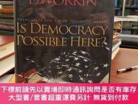 二手書博民逛書店Is罕見Democracy Possible Here? : Principles for a New Polit