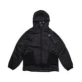 New Balance 外套 Logo Windbreaker Jackets 黑 白 男女款 連帽外套 運動休閒【ACS】 WJ11590BK