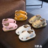 軟底學步鞋寶寶包頭涼鞋 E家人