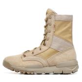 高筒登山鞋女夏季透氣運動戶外鞋男防水防滑超輕便沙漠旅行徒步鞋