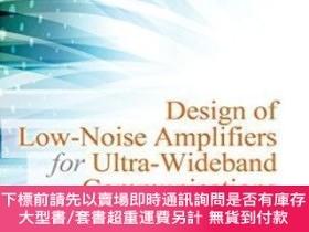 二手書博民逛書店Design罕見Of Low-noise Amplifiers For Ultra-wideband Commun