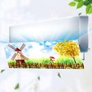 冷氣擋風板 空調擋風板罩遮風導風板空調盾...