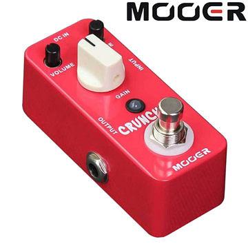 ★集樂城樂器★Mooer Cruncher(M115) 高增益失真效果器【Analog Delay Pedal】MREG-CC