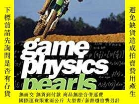 二手書博民逛書店Game罕見Physics PearlsY364682 Gino Van Den Bergen A K Pet