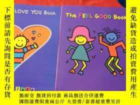 二手書博民逛書店The罕見Feel Good Book+The I Love You Book(2冊合售,詳見圖)Y23470