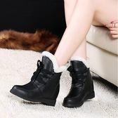 33-34 小碼女鞋 棉靴冬季保暖加絨防滑韓版學生雪地靴內增高