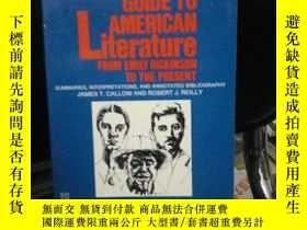 二手書博民逛書店Guide罕見to American literature:Fr