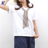 【春夏新品】American Bluedeer - 打結絲光棉T 二色