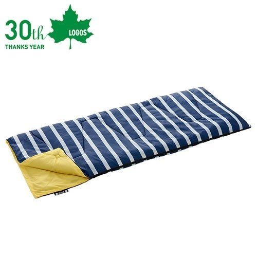 [LOGOS]  ROSY丸洗藍白靠墊睡袋6℃ (LG72600970)