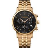 瑞士WENGER Urban三眼計時腕錶 01.1743.103