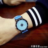 手錶女 韓國ulzzang時尚潮流原宿風手錶簡約歐美韓版學生男錶女錶情侶錶 米蘭街頭