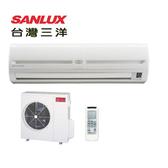 台灣三洋SANLUX 一對一定頻單冷空調SAE-63FE/SAC-63FE(基本安裝)