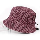 太陽帽 春夏季中年女士帽子女帽遮陽帽防曬媽媽帽太陽帽春秋薄款老人帽