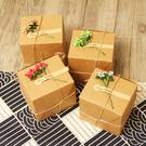 創意 禮物包裝 牛皮紙盒 禮盒包裝 聖誕...