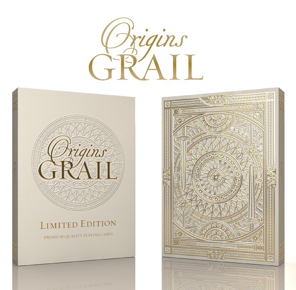 【USPCC 撲克】Origins - Grail Limited Edition decks