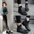 雨鞋女短筒雨靴成人防水套鞋韓國低筒膠鞋防...