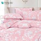天絲 Tencel 克洛依 床包冬夏兩用被 加大四件組  100%雙面純天絲 伊尚厚生活美學