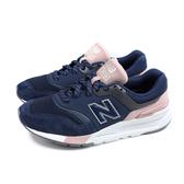 NEW BALANCE 997H系列 運動鞋 復古鞋 女鞋 深藍/粉紅 CW997HYA-B 窄楦 no829